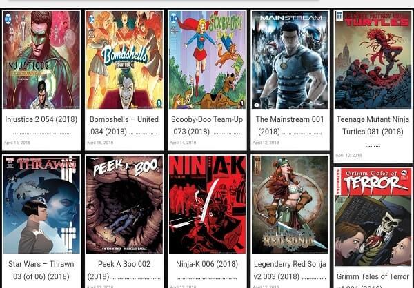 View Comic - Read comics online
