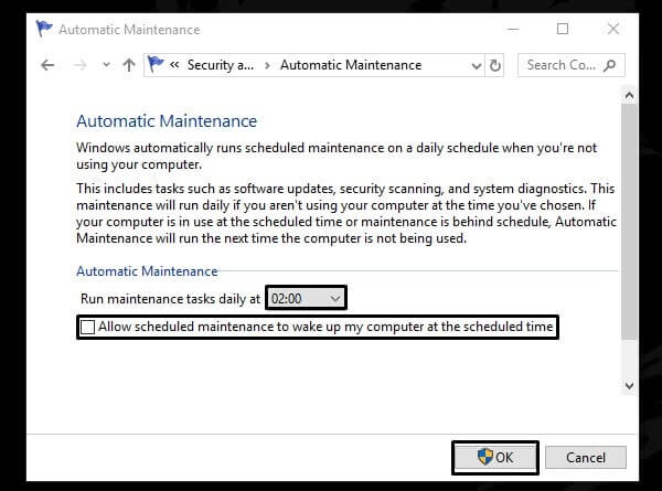 Automatic Maintenance