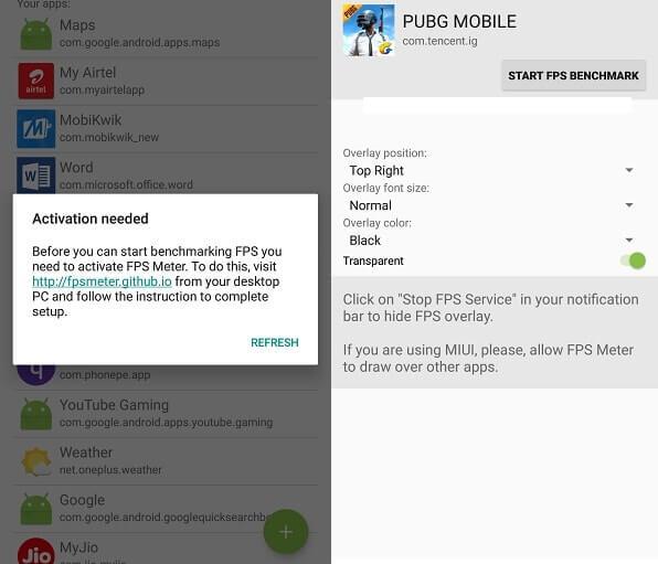 FPS Meter Android App