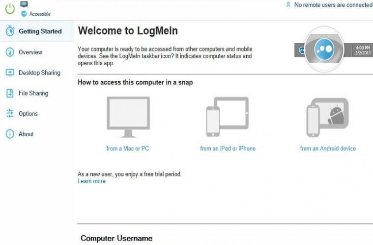 Free LogMeIn Alternative