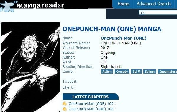 Manga-Reader - One Punch