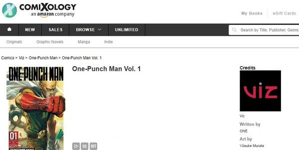 One-Punch Man - ComiXology