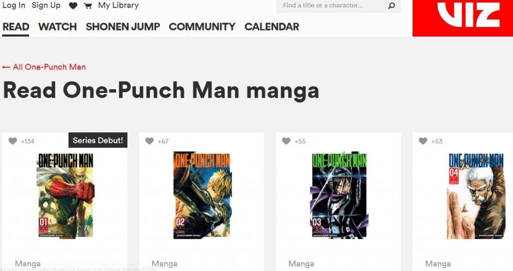 Viz - Read One Punch Man Manga