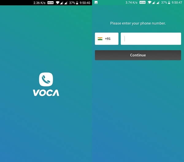 Voca - Programs like Skype