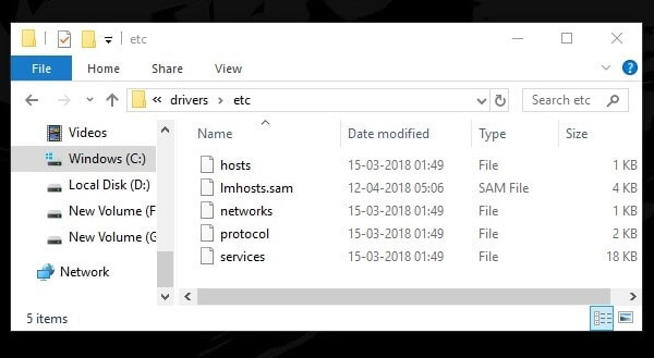 Delete files from etc folder