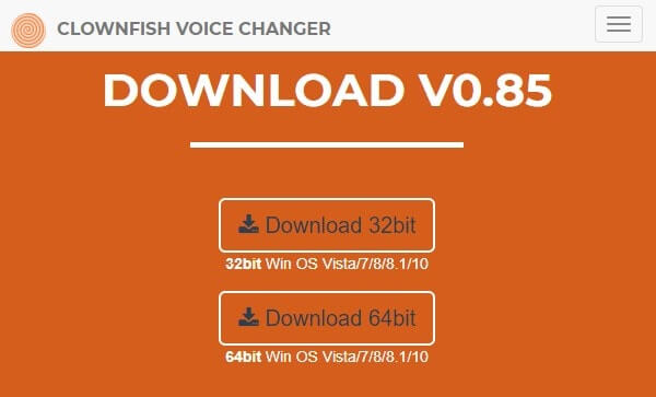 Download Clownfish Discord Voice Changer