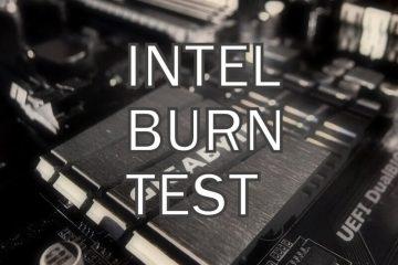 Intel Burn Test