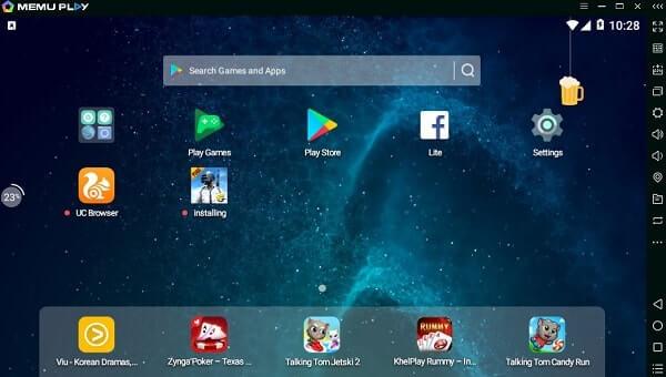 MEMU Play - PUBG Emulator for PC