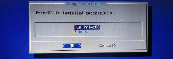 Run PrimeOS