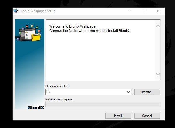 BioniX Wallpaper Setup