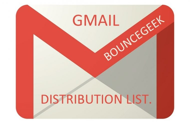 Gmail distribution list