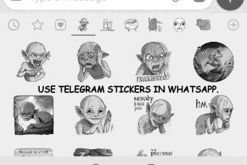 Use Telegram Stickers in WhatsApp