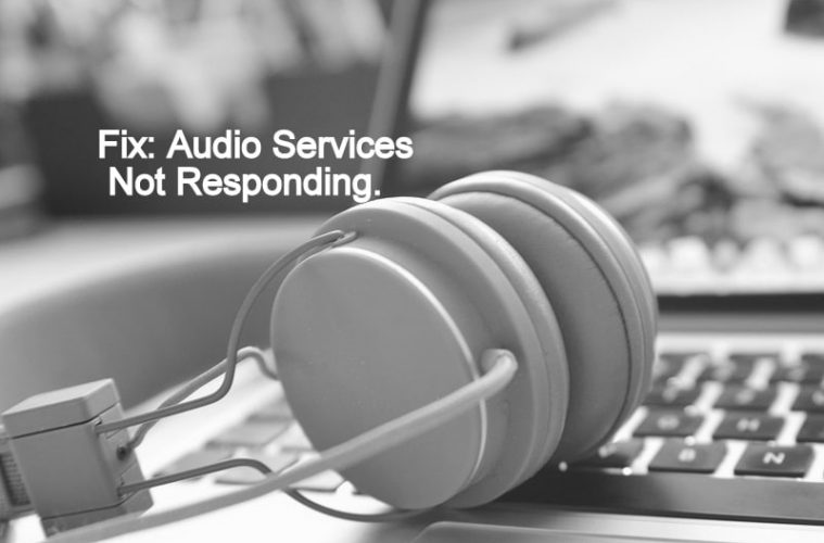 how to start audio services in windows 10