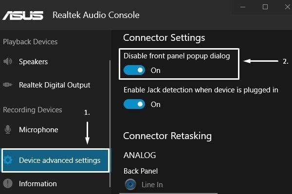 Fix - Front Audio Jack not working in PC  - BounceGeek