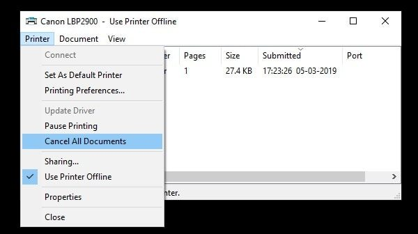 Solutions to Fix Error Printing Message in Windows 10  - BounceGeek
