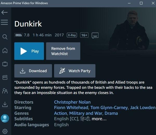 Download Amazon Prime Video for Windows