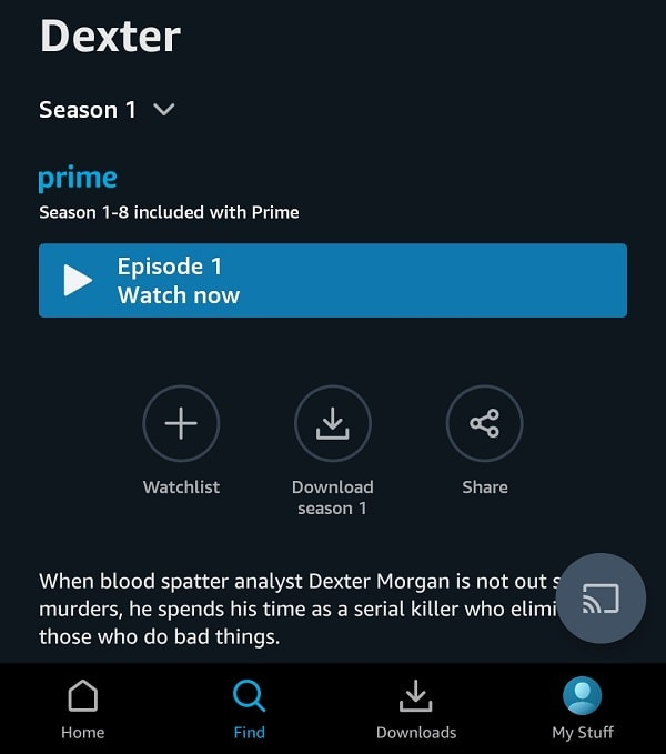 Download Amazon Prime Video in Android and iOS