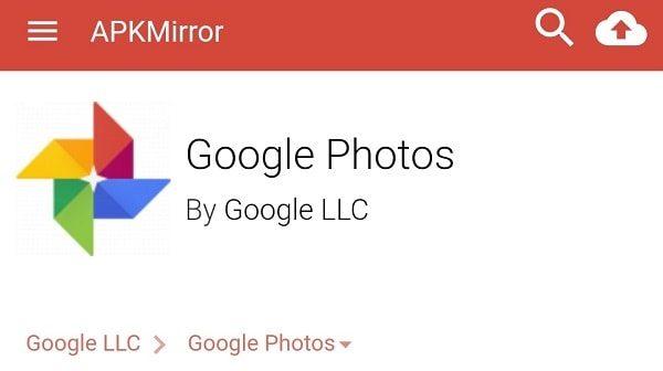 Google Photos ApkMirror
