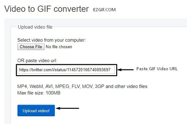 EZGIF - Paste GIF URL and Upload Video