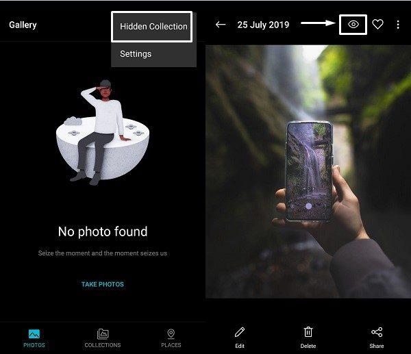 Hidden Collection OnePlus Gallery