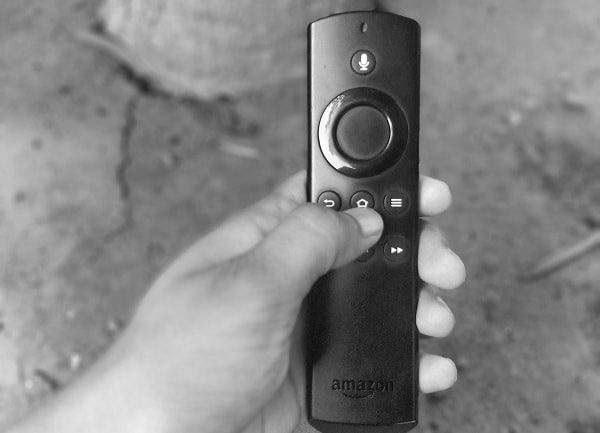Hold Home Key of Fire TV Stick Remote