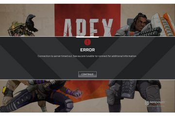 Apex Legends Connection to server timed out