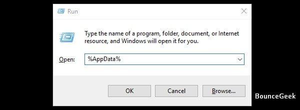 App Data Folder