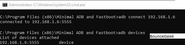 Connect FireStick with ADB