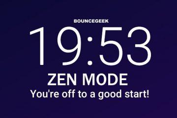Get OnePlus Zen Mode