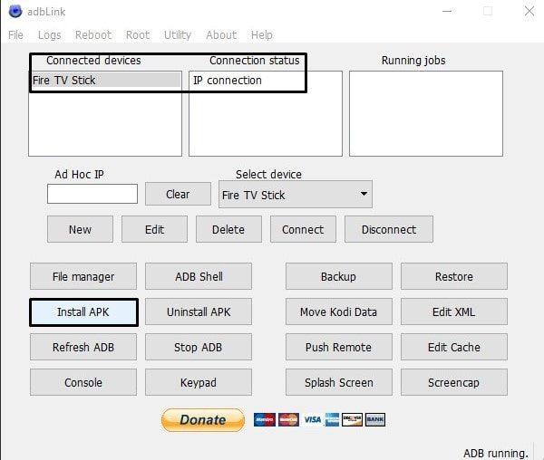 adbLink Install APK