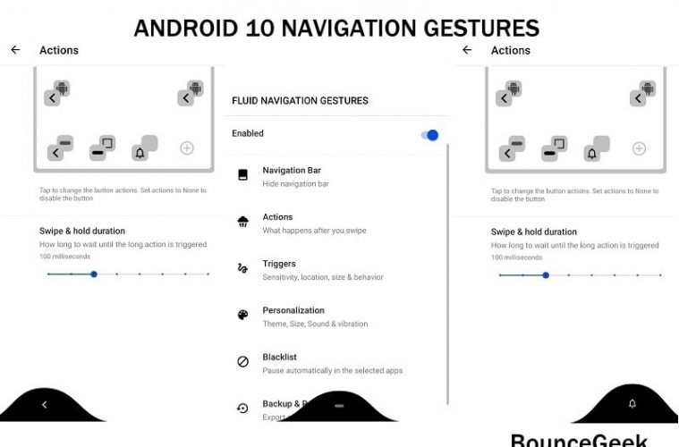 Get Android 10 Gesture Navigation on any Phone