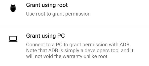 Grant Write Secure Settings Permission using ADB