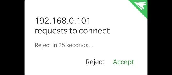 AirDroid Connect Permission - Pushbullet Alternative