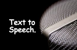Benefits of Text-To-Speech