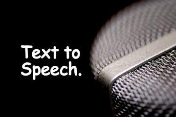 Benefits of Text-To-Speech