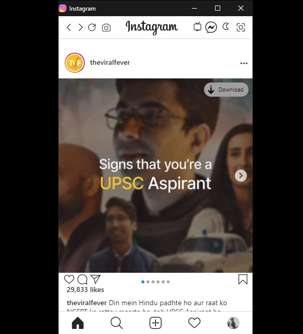 Download Instagram Photo using Chrome Extension