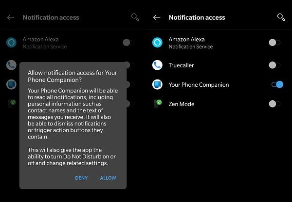 Get Phone Notification on PC - Notification Access