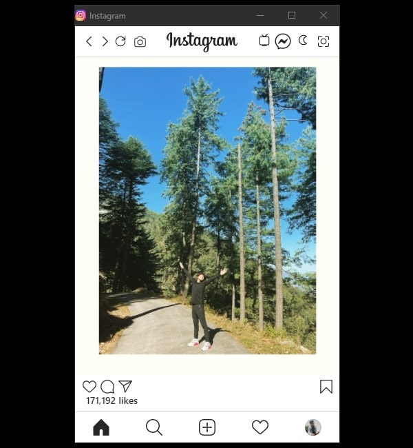 Instagram Web App to Post on Instagram from PC