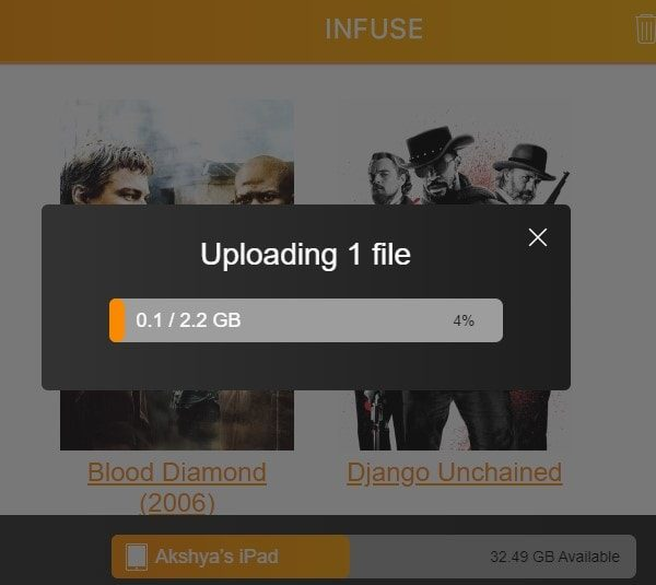 Infuse - Transfer Files from PC to iPad