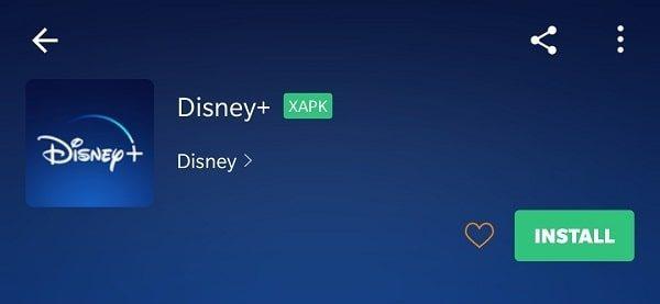 Install Disney+ App from APKPure
