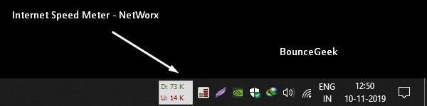 Internet Speed Meter by NetWorx