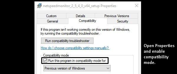 NetSpeedMonitor - Compatibility