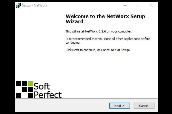 NetWorx Setup - Installation
