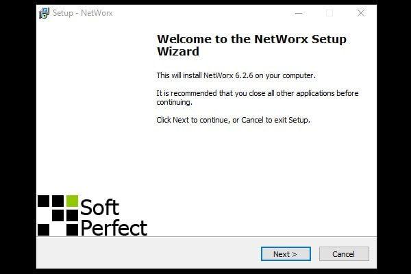 NetWorx Setup - Installation