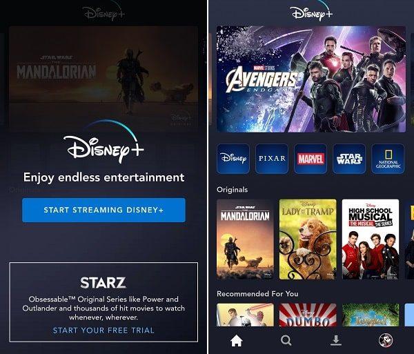 Start Streaming Disney+ - Watch in India
