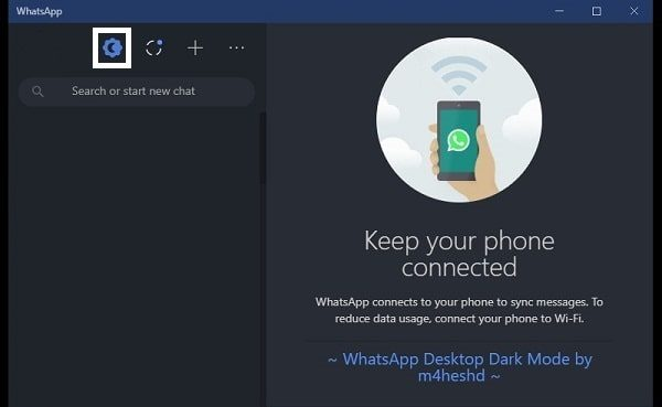 WhatsApp Desktop - Dark & Light theme