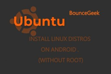 Install Linux Distros on Android without root