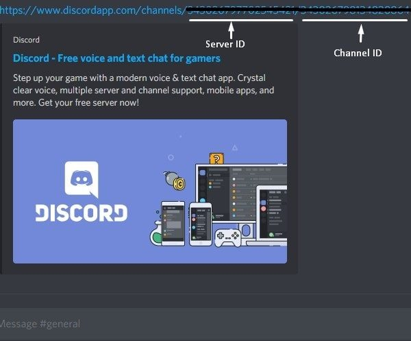Link for Screen Sharing in Discord Server