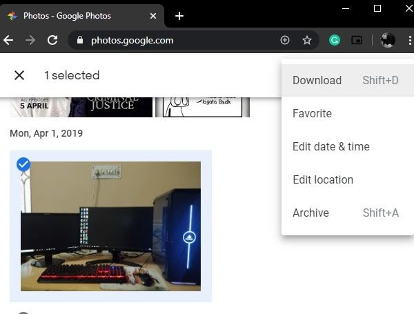 Download Google Photos and Transfer to iCloud