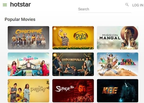 Hotstar - Watch TV Shows, Movies, Live Sports